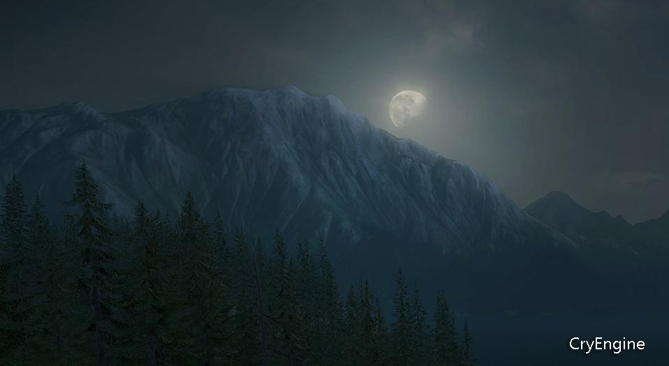 CryEngine движок игровой видео hd