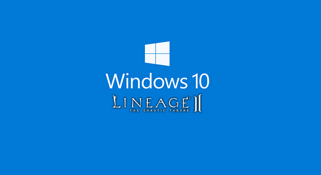 lineage 2 windows 10