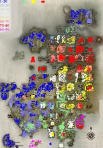 Карта Lineage 2 Interlude